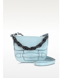 Sonia Rykiel Light Blue Mini Flap Crossbody Bag