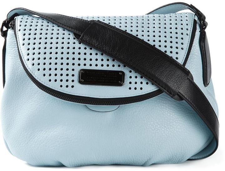 be053bb6d3b5 ... Blue Leather Crossbody Bags Marc by Marc Jacobs New Q Perf Natasha  Crossbody Bag