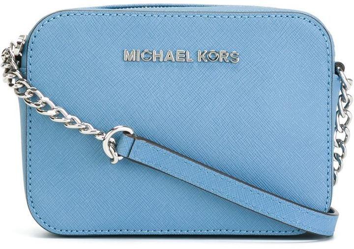 dfa6223f2c62 ... Leather Crossbody Bags MICHAEL Michael Kors Michl Michl Kors Mini Jet  Set Travel Crossbody Bag