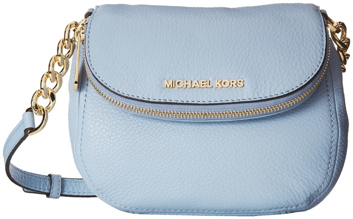 86c134c9f6 ... discount blue leather crossbody bags michael michael kors michl michl  kors bedford flap crossbody cf32b c59a0 ...