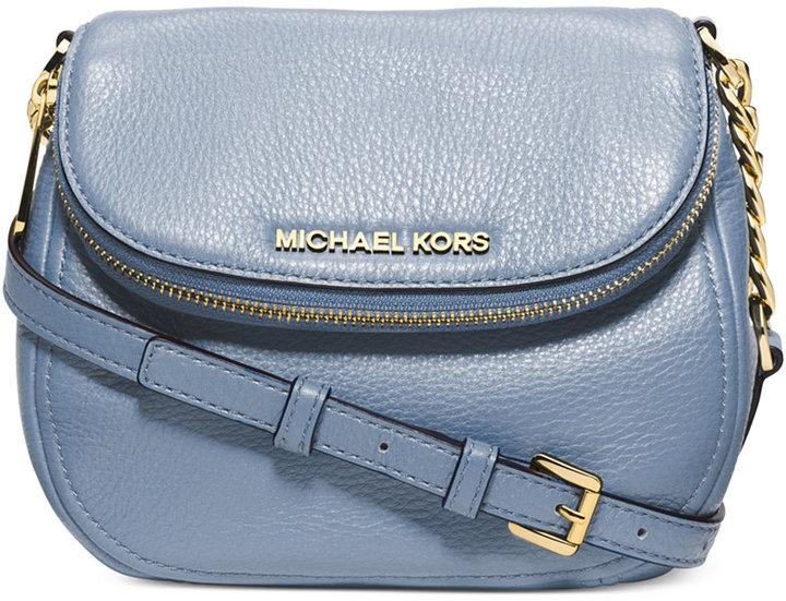 51ccd2b30796 ... Leather Crossbody Bags MICHAEL Michael Kors Michl Michl Kors Bedford  Flap Crossbody ...
