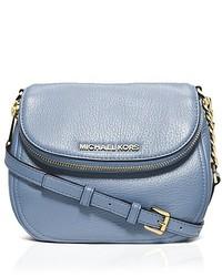 f2072bcd3ff9 Women's Light Blue Leather Crossbody Bags by MICHAEL Michael Kors ...