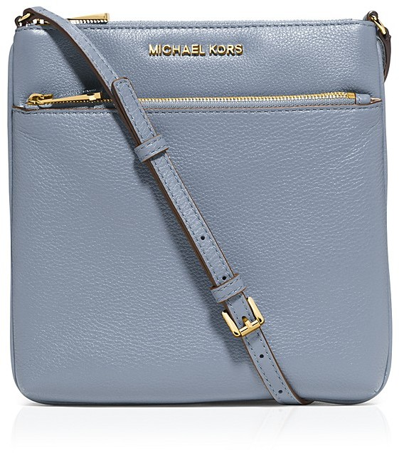 74f9a2e0d9ee ... Leather Crossbody Bags MICHAEL Michael Kors Michl Michl Kors Crossbody  Riley Small Flat ...