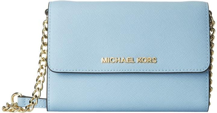 16532bc0357b ... MICHAEL Michael Kors Michl Michl Kors Jet Set Travel Large Phone  Crossbody Cross Body Handbags ...