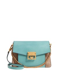 ab15b21304ce Givenchy Small Gv3 Leather Suede Crossbody Bag