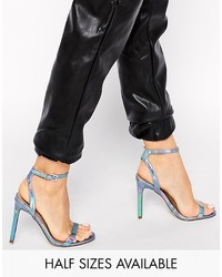 Asos Collection Heads Or Tails Heeled Sandals