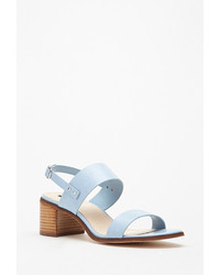 Forever 21 Faux Leather Slingback Sandals