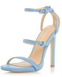 Dorothy Perkins Head Over Heels Blue Mermaid Sandals