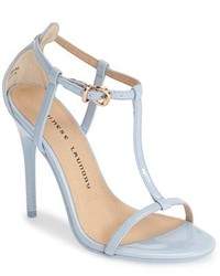 bd3afbe05d Women's Light Blue Leather Heeled Sandals by Chinese Laundry ...