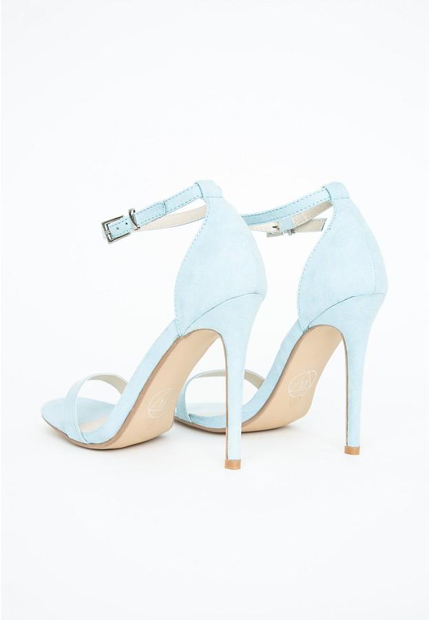 fd52aad4146 Clara Heeled Sandals Baby Blue