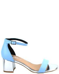 Mixx Shuz Sally Block Heel Ankle Strap Sandal