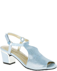 Hush Puppies Soft Style By Dalyne Leather Strappy Sandals