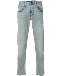 R 13 R13 Five Pockets Tapered Jeans