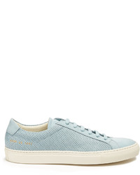 Common Projects Achilles Low Top Perforated Leather Trainers