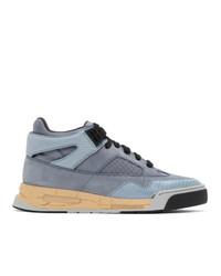 Maison Margiela Blue Ddstck Sneakers