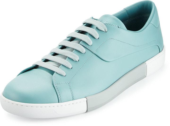 low top sneakers - Blue Prada EvYS3