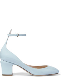 Tango patent leather pumps light blue medium 443927