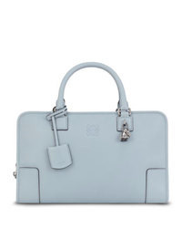 Loewe Amazona Elephant Charm Satchel Bag Light Blue