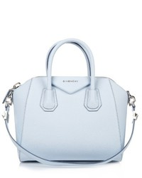 f39207644d89 Women s Light Blue Leather Tote Bags by Givenchy