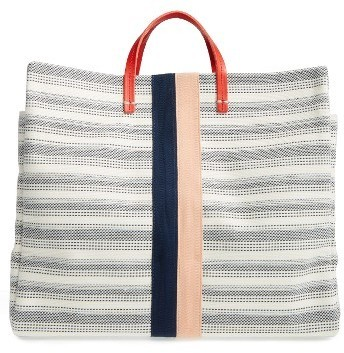 Bags Clare Vivier V Simple Tote Blue