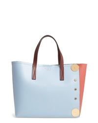 Marni Colorblock Eastwest Leather Tote