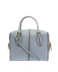 Tod's D Cube Small Leather Bowler Tote