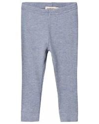 Marmar Copenhagen Mid Blue Melange Leggings