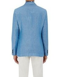Etro Minerva Two Button Jacket Blue, $1,475 | Barneys New York