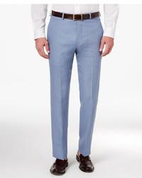 Lauren Ralph Lauren Classic Fit Solid Linen Dress Pants