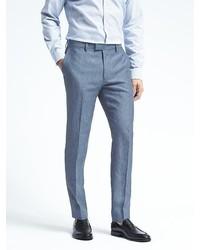 Banana Republic Standard Solid Linen Suit Trouser