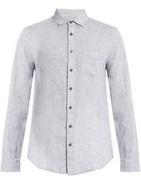 Onia Abe Long Sleeved Linen Shirt
