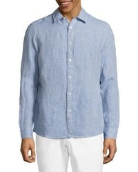 Michael Kors Michl Kors Regular Linen Shirt