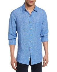 Norsewood sports fit linen sport shirt medium 3691202