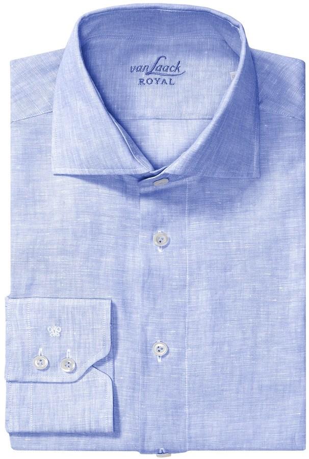 bd195932 Van Laack Rivas Linen Shirt, $99 | Sierra Trading Post | Lookastic.com