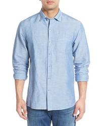 Tommy Bahama Big Tall Islander Linen Cotton Sport Shirt