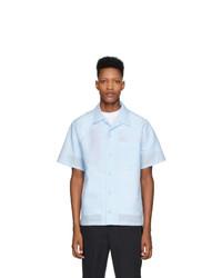 Kenzo Blue Linen Shirt