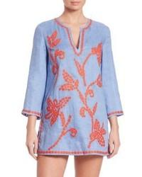 Light Blue Linen Tunic