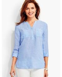 The linen camp shirt medium 3662401