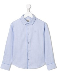 Armani Junior Micro Check Shirt