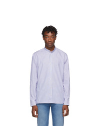 Golden Goose Blue And White Yuji Shirt