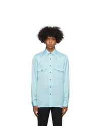 Dries Van Noten Blue Ballroom Shirt