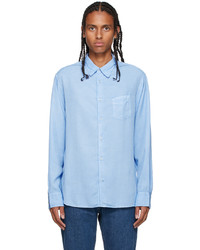 Officine Generale Blue Benoit Shirt