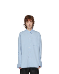 Ader Error Blue Cosmos Shirt