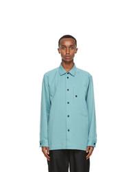Issey Miyake Men Blue Dfc L Shirt
