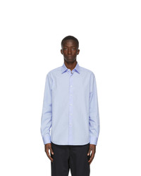Lanvin Blue Fitted Shirt