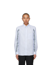 Burberry Blue Icon Stripe Slim Fit Shirt