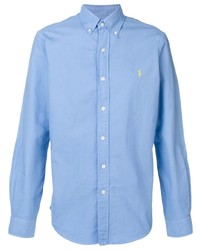 Ralph Lauren Blue Logo Shirt