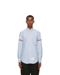 Thom Browne Blue Oxford Gros Armband Shirt