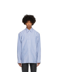 Marni Blue Oxford Regular Fit Shirt
