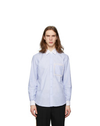 Burberry Blue Oxford Shirt